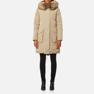 Woolrich Women's Military Parka - Deep Bog