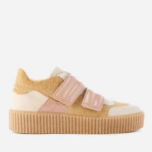 MM6 Maison Margiela Women's Multi Colour Trainers - Beige/Beige/Pink