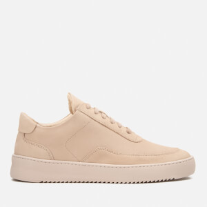 Filling Pieces Mondo Ripple Low Top Trainers - All Nude