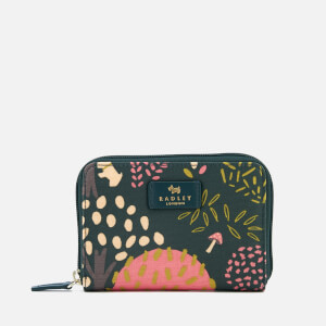 Radley Women's Epping Forest Medium Zip Around Purse - Pine