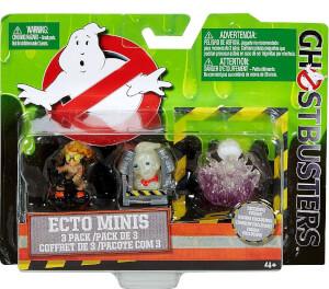 Ghostbusters Mini Figure 3 Pack