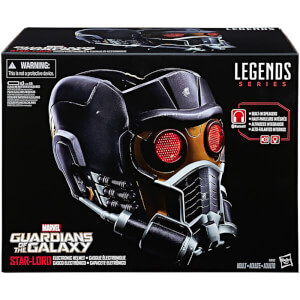 Casco Star-Lord Electrónico - Hasbro Marvel Legends (1:1)