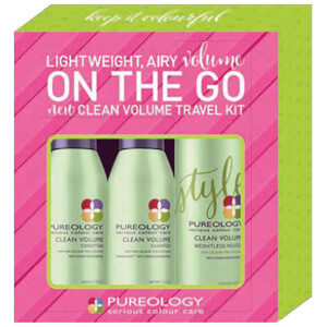 Pureology Volume on the Go Clean Volume Travel Kit