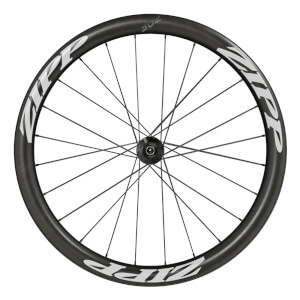 Zipp 302 Carbon Clincher Disc Brake Front Wheel - White Decal