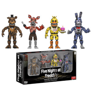 Lot de 4 Figurines Five Nights at Freddy's Funko 5cm