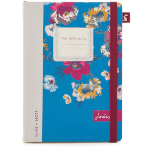 Joules A5 Notebook - Multi Poppy Posy