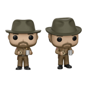 Figurine Pop! Hopper avec Donut Stranger Things