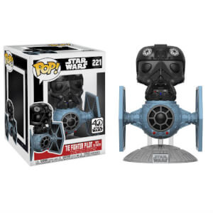 Star Wars Tie Fighter mit Tie Pilot Pop! Vinyl Figur