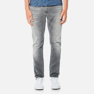 Nudie Jeans Men's Lean Dean Slim Jeans - Grey Ace