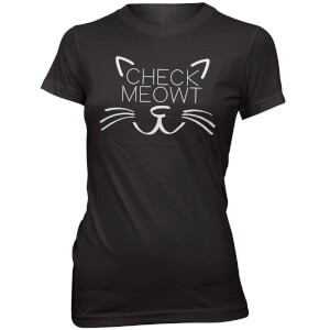 Check Meowt Frauen T-Shirt