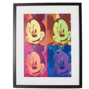 Disney Mickey Mouse Pop Framed Printed Wall Art