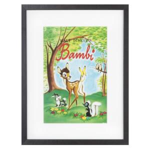 Disney Bambi Cover Gallery Framed Printed Wall Art