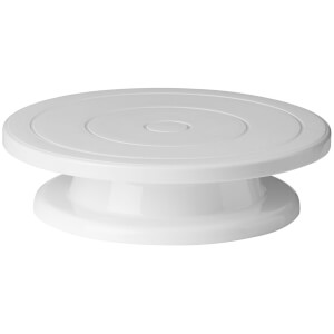 Premier Housewares Decorating Turntable Stand - White