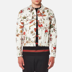McQ Alexander McQueen Men's Billy Floral Jacket - Parchment