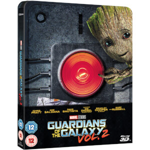 Guardians of the Galaxy Vol. 2 3D (Inclusief 2D versie) - Zavvi UK Exclusive Limited Edition Steelbook