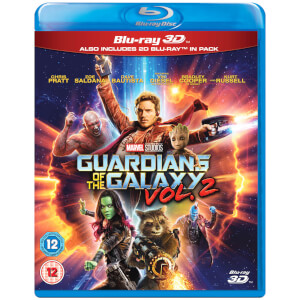 Guardians of the Galaxy Vol. 2 3D (Includes 2D Version)
