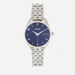 Nixon Women's The Bullet Watch - Navy/Rose Gold