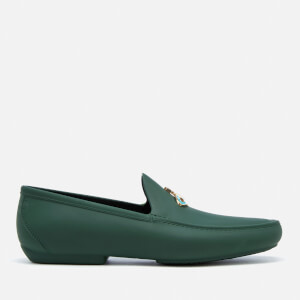 Vivienne Westwood MAN Men's Orb Moccasin Shoes - Dark Green