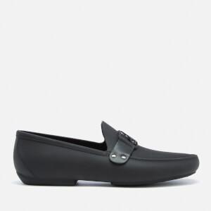 Vivienne Westwood MAN Men's Frame Orb Moccasin Shoes - Black