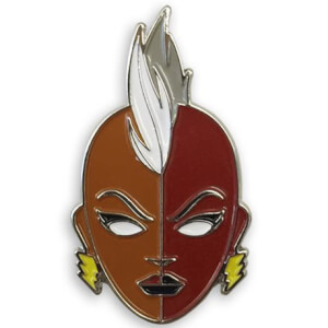 Mondo X-Men Mohawk Storm Enamel Pin