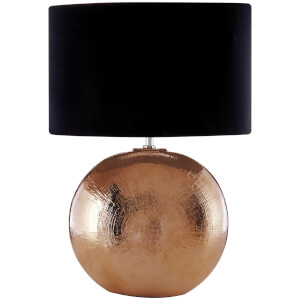 Fifty Five South Jarvis Table Lamp - Copper/Black