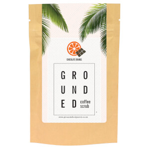 Grounded Coffee Scrub 200g - Chocolate Orange