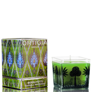 Ortigia Bergamotto Square Candle