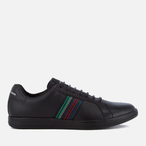 PS by Paul Smith Men's Lapin Leather Trainers - Black