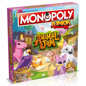 Monopoly Junior - Animal Jam Edition