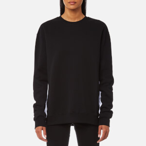 MSGM Women's Side Logo Sweatshirt - Black