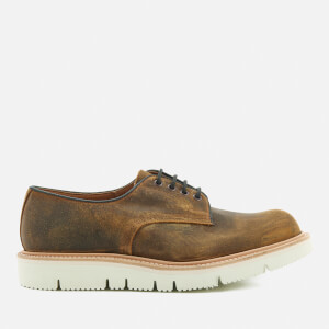 Tricker's Men's Vibram Sole Waxy Shoes - Cuba