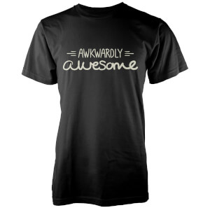 Awkwardly Awesome Men's Black T-Shirt
