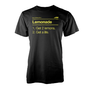 T-Shirt Lemonade Vo Maria -Noir