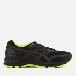 Asics Running Men's GT-2000 5 Lite Show Trainers - Black/Safety Yellow/Reflective