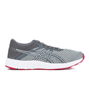 Asics Women's Fuze X Lyte 2 Trainers - Mid Grey/Carbon/Cosmo Pink