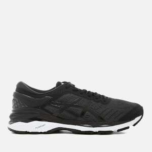 Asics Men's Running Gel Kayano 24 Trainers - Black/Phantom White