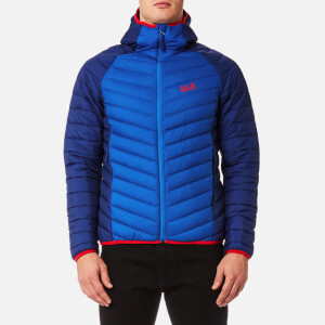 Jack Wolfskin Men's Zenon Storm Hooded Jacket - Coastal Blue