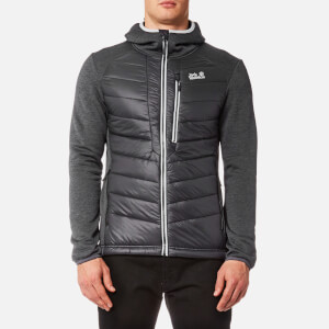 Jack Wolfskin Men's Skyland Crossing Hooded Jacket - Black