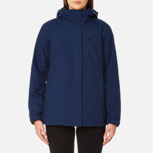 Jack Wolfskin Women's Iceland 3-in-1 Jacket - Navy Blue