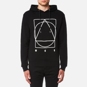 McQ Alexander McQueen Men's Band Icon Curtis Hoody - Darkest Black