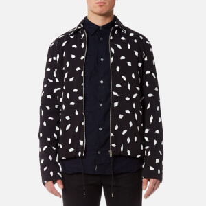 McQ Alexander McQueen Men's Aojama 01 Leaves Jacket - Darkest Black