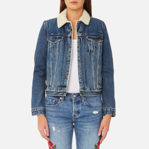 Levi's Women's Original Sherpa Trucker Jacket - Extremely Loveable