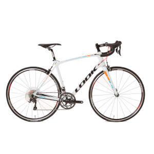Look 765 Ultegra 6800 2017 Road Bike 2017 - White/Fluo Red/Blue