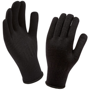 Sealskinz Merino Gloves Liner - Black