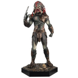 Eaglemoss Publications Alien and Predator Berseker Predator Figure and Magazine #9