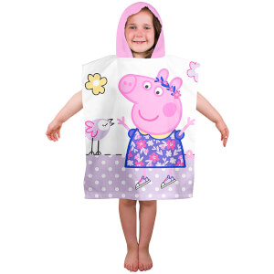 Peppa Pig Happy Poncho Towel