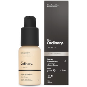 The Ordinary Colours: The Ordinary Serum Foundation -meikkivoideseerumi SPF15, 30ml (useita sävyjä)