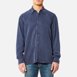 Our Legacy Men's Performance Long Sleeve Shirt - Liquid Turbo Blue