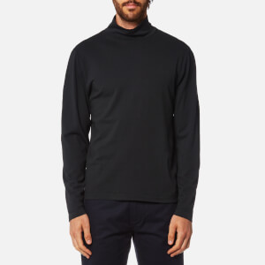Our Legacy Men's Jersey Turtle Neck Sweatshirt - Black Army Jersey