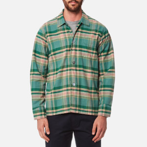 Our Legacy Men's Box Long Sleeve Shirt - Lemongrass Check